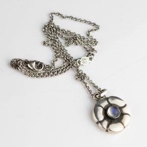 Georg Jensen, Danish 925S silver necklace , pendant  435
