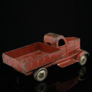 Antique tin toy car