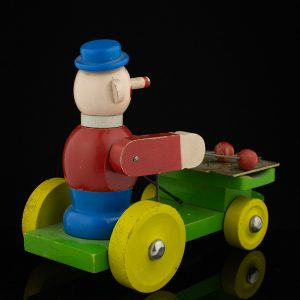 Antique wooden toy