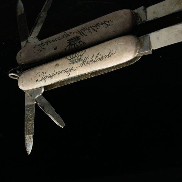 Antiikne taskunuga, 800 hõbe