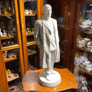 Soviet Russian Porcelain figure of Lenin