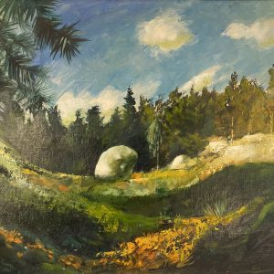 Edgar Valter (1926-2006) Maastik HINDAMISEL