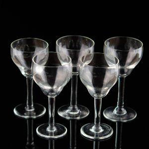 Lorupi klaasist veinipokaalid 5tk ,Eesti