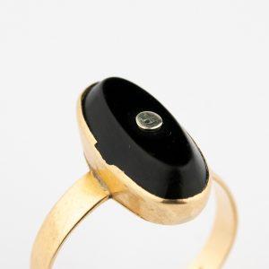 Sõrmus, 500 kuld, oonüks