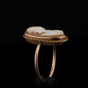 Kameesõrmus, 500 kuld