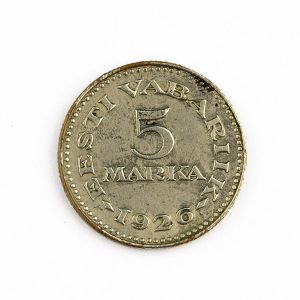 EW münt 5 marka 1926 - VÕLTSING