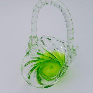 Tarbeklaasi korv,roheline