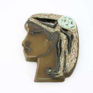 TEKT seinaplaat Naine lillega Naima Uustalu