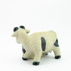 Ellinor Piipuu (1913-2006) Eesti keraamiline kuju Naine lehmaga