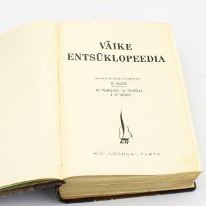 Eesti raamat Väike Entsüklopeedia 1937a