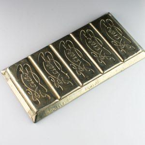 KAWE šokolaadi vorm, plattinol (Anton Reiche Dresden)
