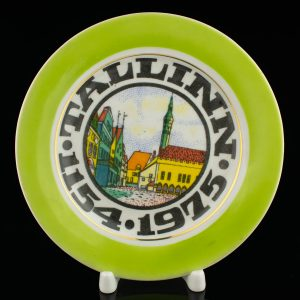 Portselan suveniirktaldrik Tallinn 1154-1975