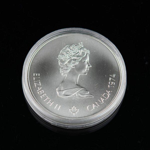 Meenemünt - Kanada Montreali Olümpia 1976, 5 dollarit, hõbe 1974