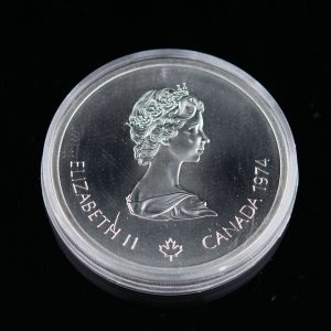 Kanada meenemünt 1974, Montreali Olümpia 1976,  hõbe 10 dollarit