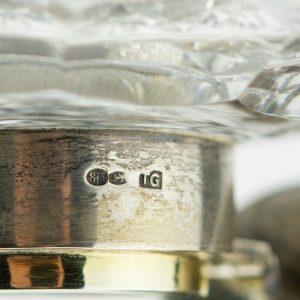 EW aegne kirjutuslaua garnituur märkmikuga,Theodor Grühn 875 hõbe