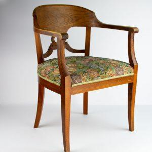 Juugend kirjutuslaua tool kangaga
