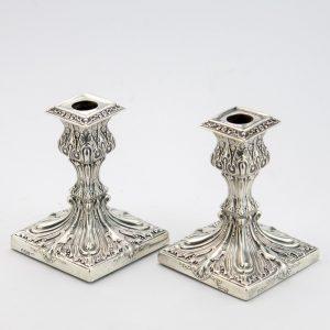Antiiksed küünlajalad Mappin&Webb, Inglise hõbe