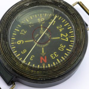 Antique German military compass