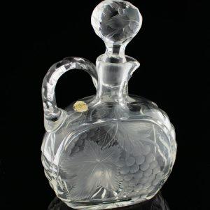 Lorupi kristall karahvin Viinamarjad,märgiga