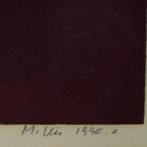 Malle Leis (1940-2017) Troopiline I 29/50,serigraafia 1990a