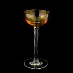 Lorupi klaasist likööripits,kollane Eesti