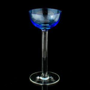 Lorupi klaasist likööripits,sinine Eesti