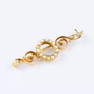 Tsaari-Vene pross, 56 kuld pärlitega