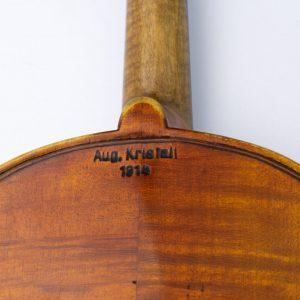 Antiikne Eesti viiulimeistri August Kristal (1866-1925) viiul 1914a