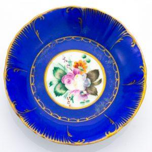 Tsaari-Vene Sipjagini tehase taldrik, portselan, käsimaal