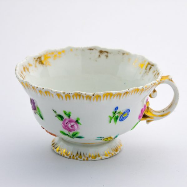 Meisseni tass, portselan, käsimaal