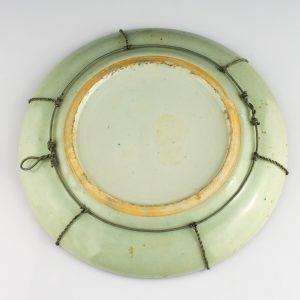 Idamaine taldrik, portselan, käsimaal