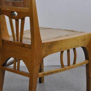 Antiiksed Juugend puidust toolid 6tk