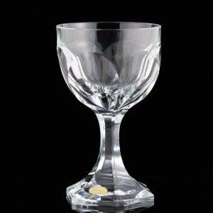 Lorupi kristall veinipokaal lailihv, märgiga Eesti,defekt