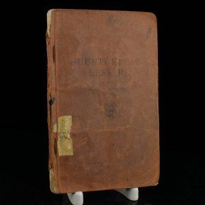 Antiikne raamat Kaitseväe Suurtükiväe-Eeskiri I osa Kerge Suurtükivägi, Tallinn 1935a