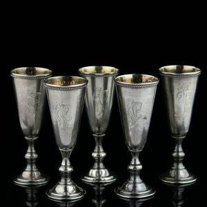 EW pitsid 5tk. 875 hõbe, Theodor Grühn, 1924-1940