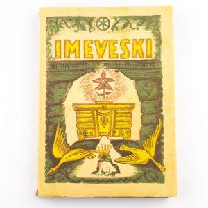 Raamat Imeveski,Nõukogude Liidu Rahvaste Muinasjutte I 1946a,Eesti