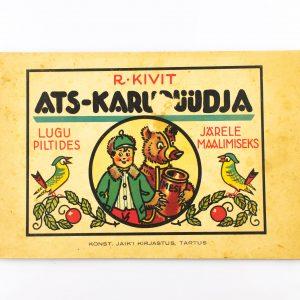 Pildiraamat R.Kivit Ats-karupüüdja 1936a