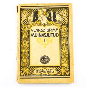 Lasteraamat Vennad Grimm- Muinasjutud I