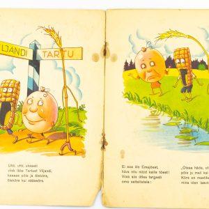 Lasteraamat-Viisk,Põis ja Õlekõrs,Kuldne kodu 1943a
