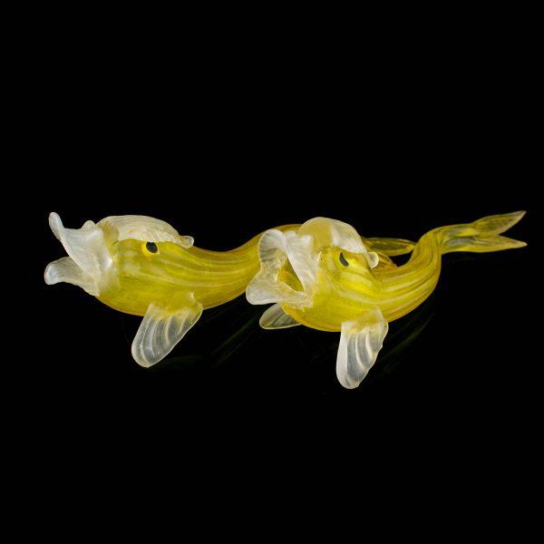 Antiqeu glass fish