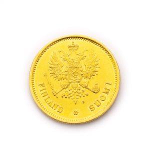Soome kuldmünt - 20 marka 1878