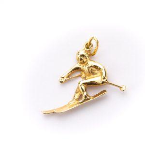 Kuldripats - Suusataja - kuld 585