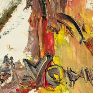 Ants Erik Vomm (1931-2003) õlimaal Klounid