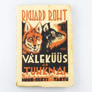 Richard Roht-Väleküüs ja Tuhknai 1935a