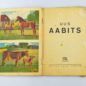 Antiikne-Uus Aabits, Oskar Luik 1937a Tartu