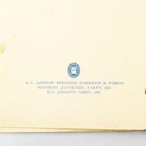 Raamat-Münchhauseni seiklused,Looduse lasteraamat nr 6 1935a
