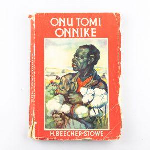 Lasteraamat H.Beecher-Stowe-Onu Tomi onnikene 1936a