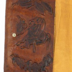 Antiikne nahast kott Eesti