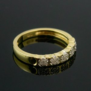 Kuldsõrmus suurus 16, kuld 585