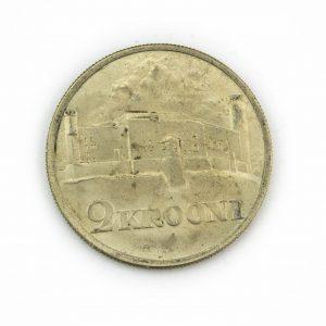 EW 2-kroonine hõbemünt, 1930